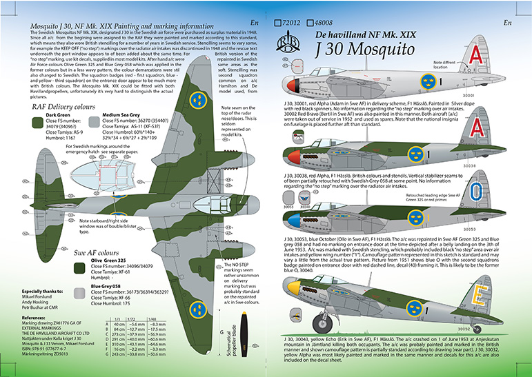 J 30 Mosquito Instructions Page 1